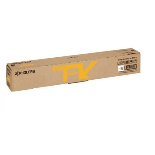 Kyocera TK-8119 Yellow (Genuine) title=