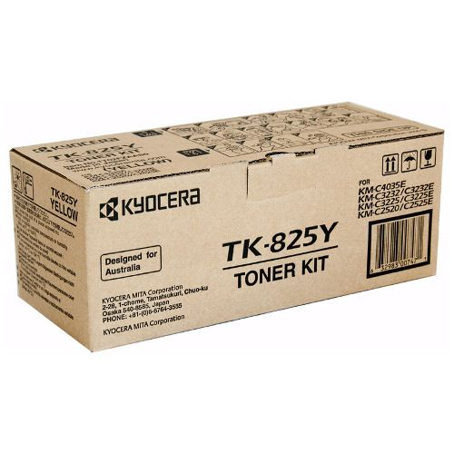 Kyocera TK-825Y Yellow (Genuine) title=