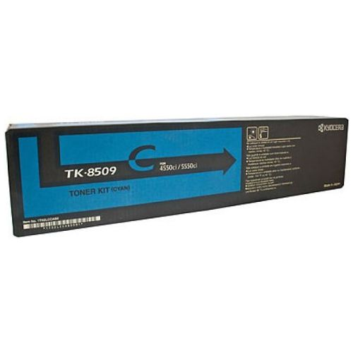 Kyocera TK-8509C Cyan Toner Cartridge Genuine