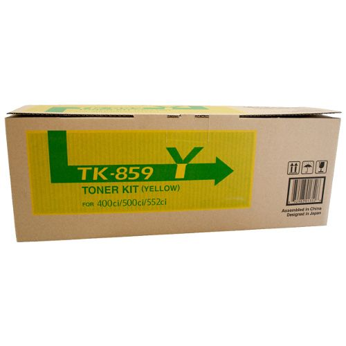 Kyocera TK-859Y Yellow (Genuine) title=