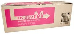 Kyocera TK-869M Magenta Toner Cartridge Genuine