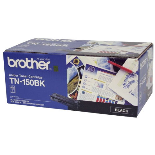 Brother TN-150BK Black (Genuine) title=