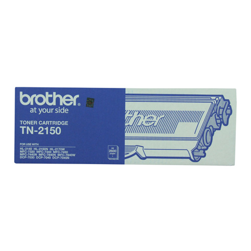 Brother TN-2150 Black High Yield (Genuine) title=