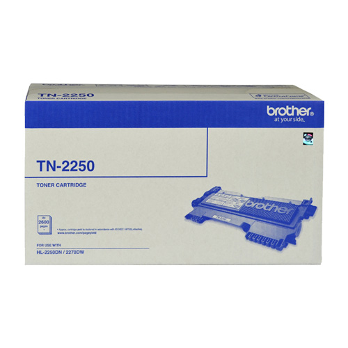 Brother TN-2250 Black High Yield (Genuine) title=