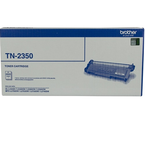 Brother TN-2350 Black High Yield (Genuine) title=