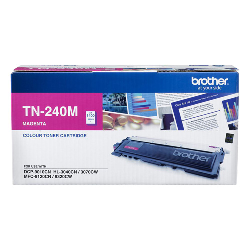 Brother TN-240M Magenta (Genuine) title=