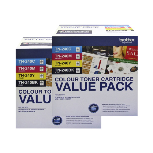 Brother TN-240 8 Pack Bundle (Genuine) title=