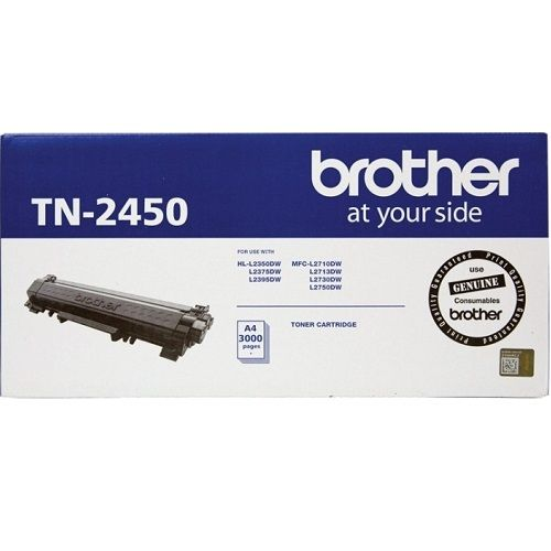 Brother TN-2450 Black High Yield (Genuine) title=