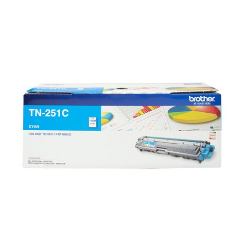 Brother TN-251C Cyan (Genuine) title=