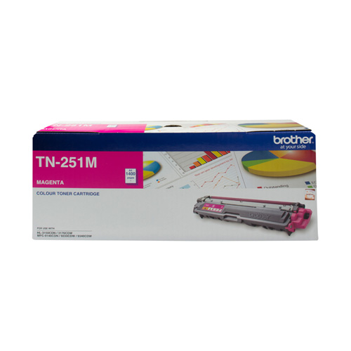 Brother TN-251M Magenta (Genuine) title=