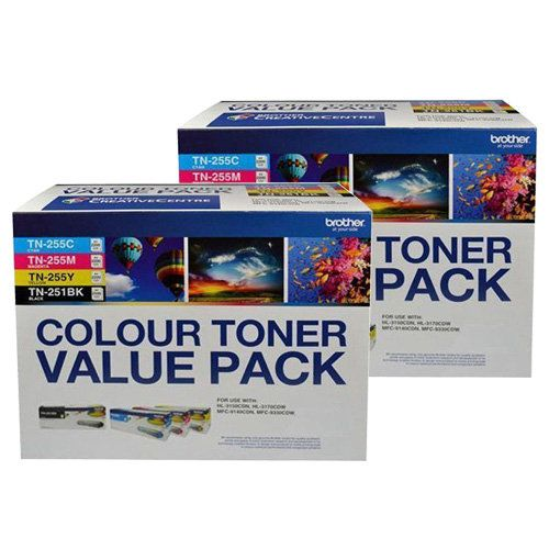 Brother TN-251/TN-255 8 Pack Bundle (Genuine) title=