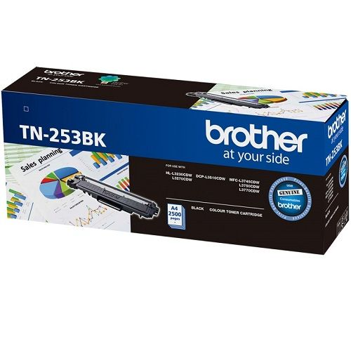 Brother TN-253BK Black (Genuine) title=