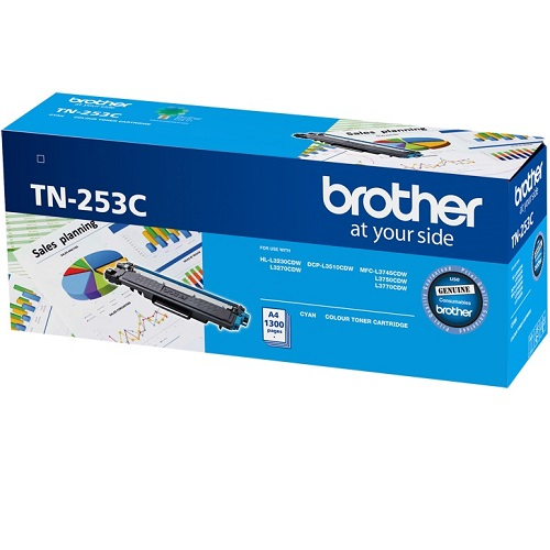 Brother TN-253C Cyan (Genuine) title=