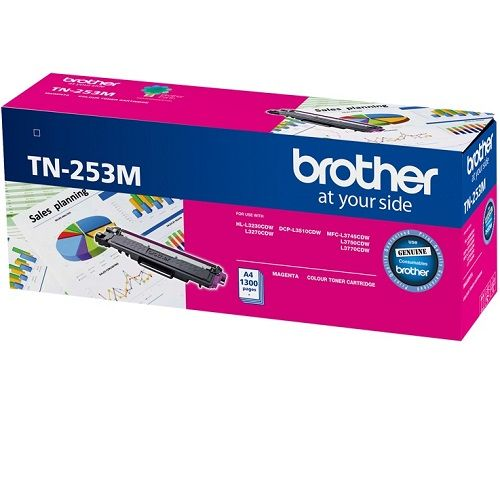 Brother TN-253M Magenta (Genuine) title=
