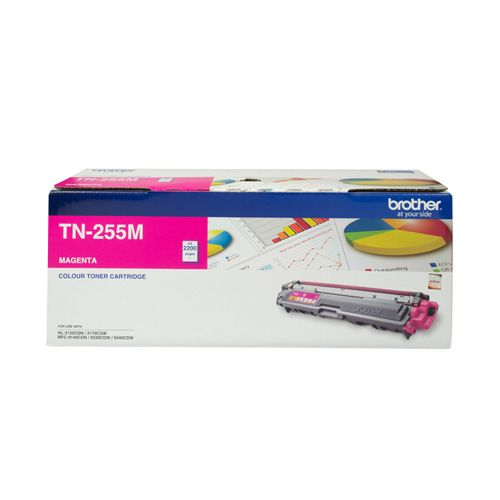 Brother TN-255M Magenta High Yield (Genuine) title=