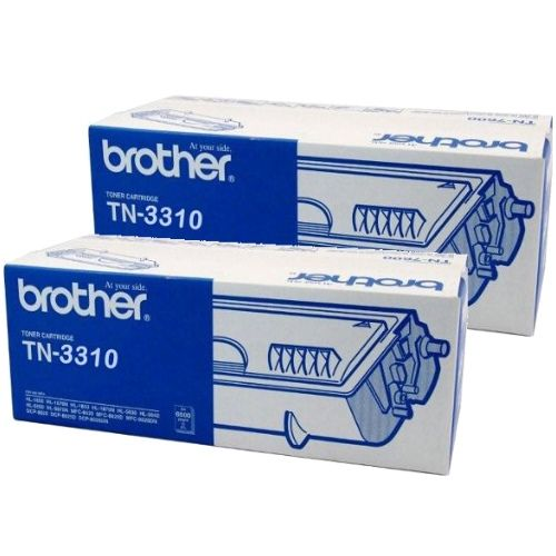 Brother TN-3310 2 Pack Bundle (Genuine) title=
