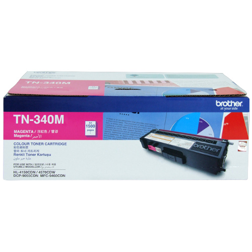 Brother TN-340M Magenta (Genuine) title=