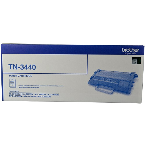 Brother TN-3440 Black High Yield (Genuine) title=