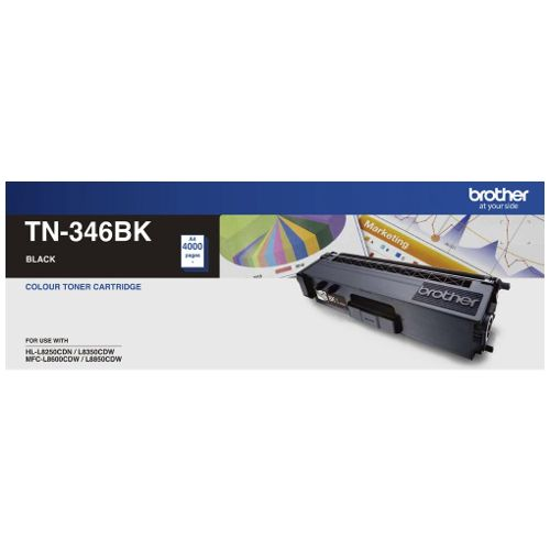 Brother TN-346BK Black High Yield (Genuine) title=