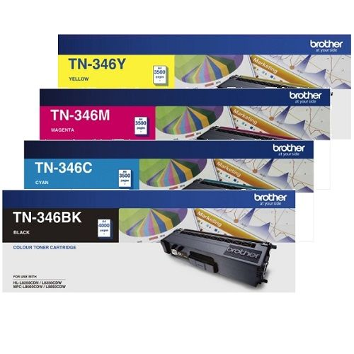 Brother TN-346 8 Pack Bundle (Genuine) title=