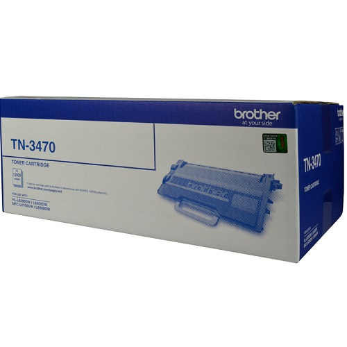 Brother TN-3470 Black Extra High Yield (Genuine) title=