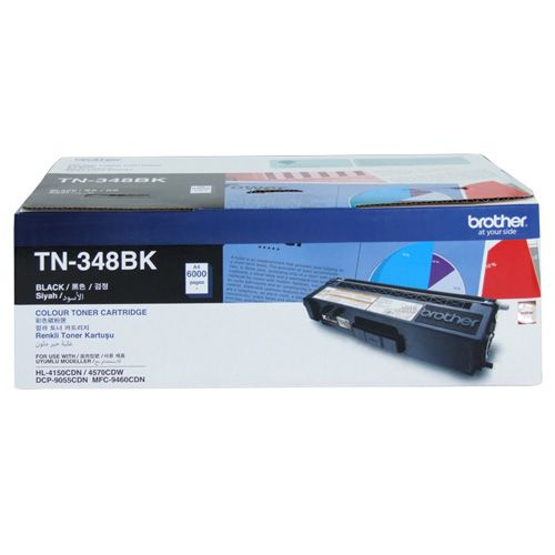 Brother TN-348BK Black High Yield (Genuine) title=