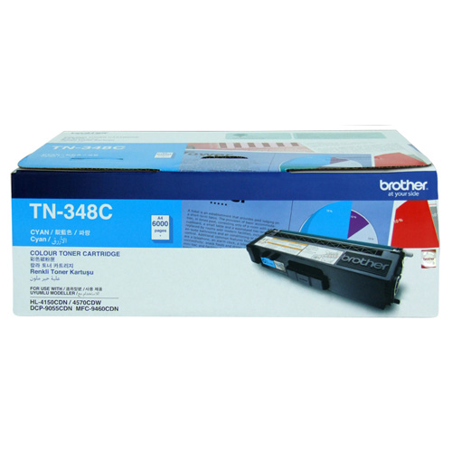 Brother TN-348C Cyan High Yield (Genuine) title=