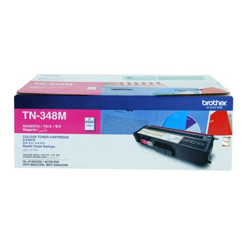 Brother TN-348M Magenta High Yield (Genuine) title=