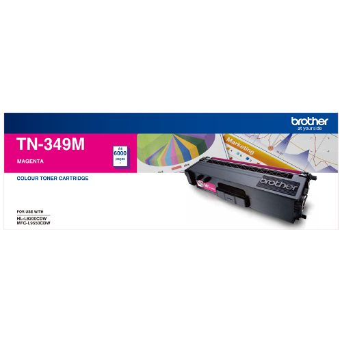 Brother TN-349M Magenta (Genuine) title=