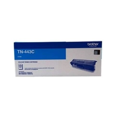 Brother TN-443C Cyan High Yield Toner Cartridge (Genuine) title=