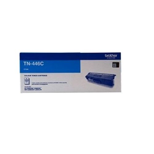 Brother TN-446C Cyan Super High Yield Toner Cartridge (Genuine) title=