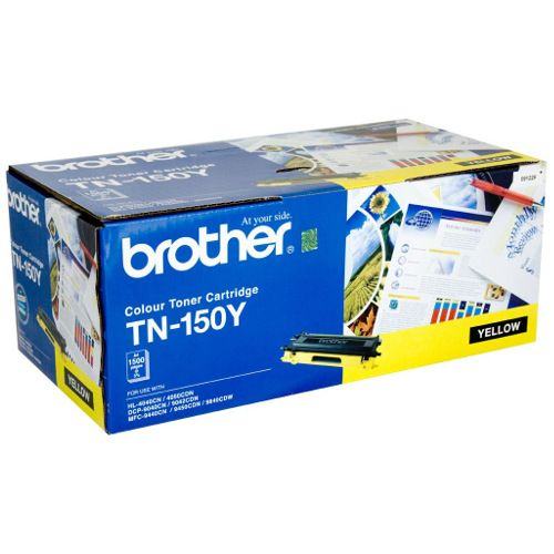 Brother TN-150Y Yellow (Genuine) title=