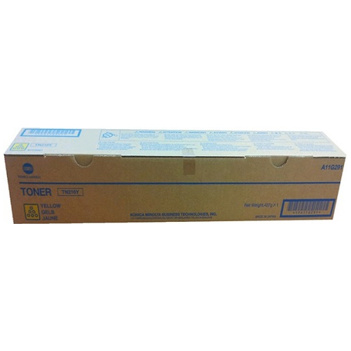 Konica Minolta TN216Y Yellow Toner Cartridge (A11G291) Genuine