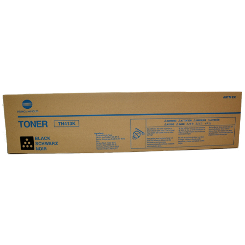 Konica Minolta TN413K Black (A0TM151) (Genuine) title=