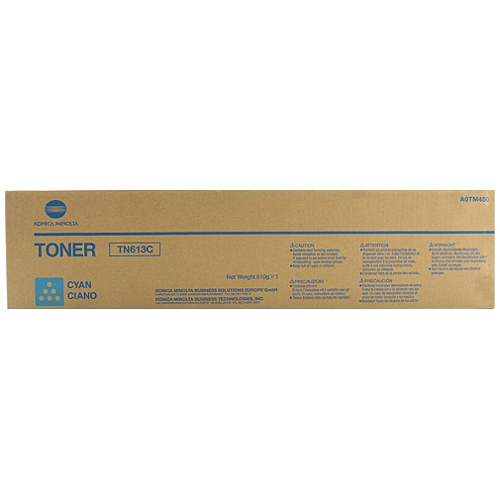Konica Minolta TN613C Cyan (A0TM450) (Genuine) title=