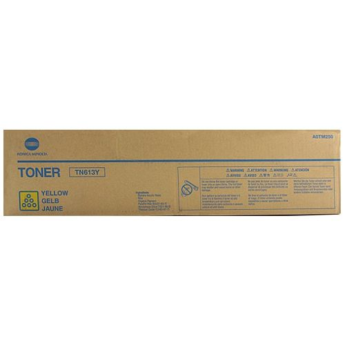 Konica Minolta TN613Y Yellow (A0TM250) (Genuine) title=
