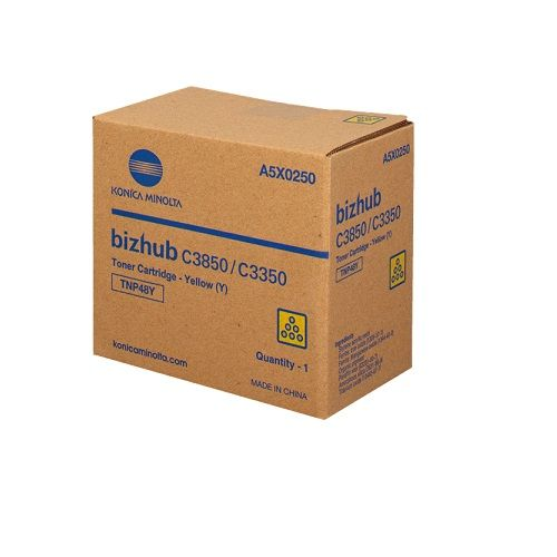 Konica Minolta TNP48Y Yellow (A5X0290) (Genuine) title=