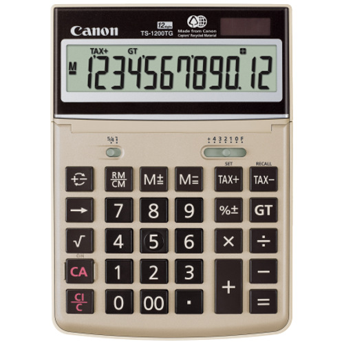 Canon TS-1200TG Calculator
