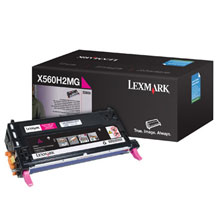 DISCONTINUED - Lexmark X560H2MG Magenta (Genuine) title=
