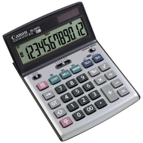 Canon BS-1200TS Calculator