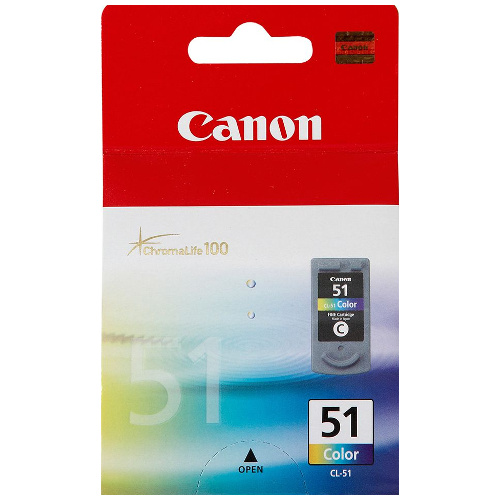 Canon CL-51 Colour High Yield (Genuine) title=