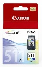 Canon CL-511 Colour Ink Cartridge Genuine