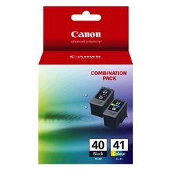 Canon 2-Pack PG-40/CL-41 Value Pack Ink Cartridge Genuine
