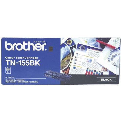 Brother TN-155BK Black High Yield (Genuine) title=