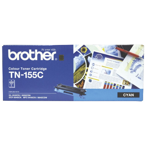 Brother TN-155C Cyan High Yield (Genuine) title=