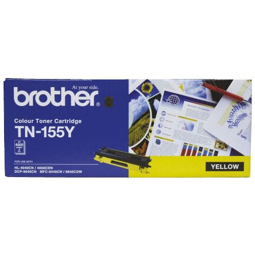 Brother TN-155Y Yellow High Yield (Genuine) title=