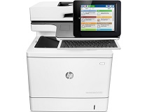 HP  Color LaserJet Enter Flow M577c