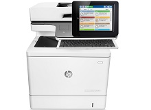 HP  Color LaserJet Enter Flow M577z