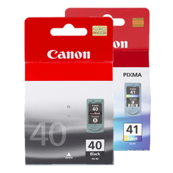 Canon PG-40, CL-41 Ink Cartridges