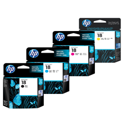 HP 18 Ink Cartridges